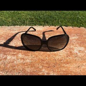 CHANEL Accessories - Chanel Oversized Black Sunglasses